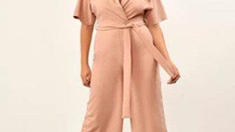 Rose Utility Culotte Jumpsuit