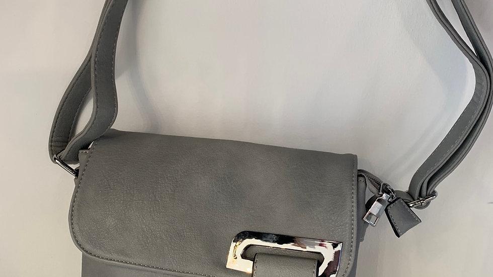 Grey Crossover Bag