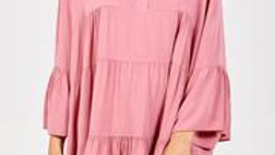 Flare Smock Dress