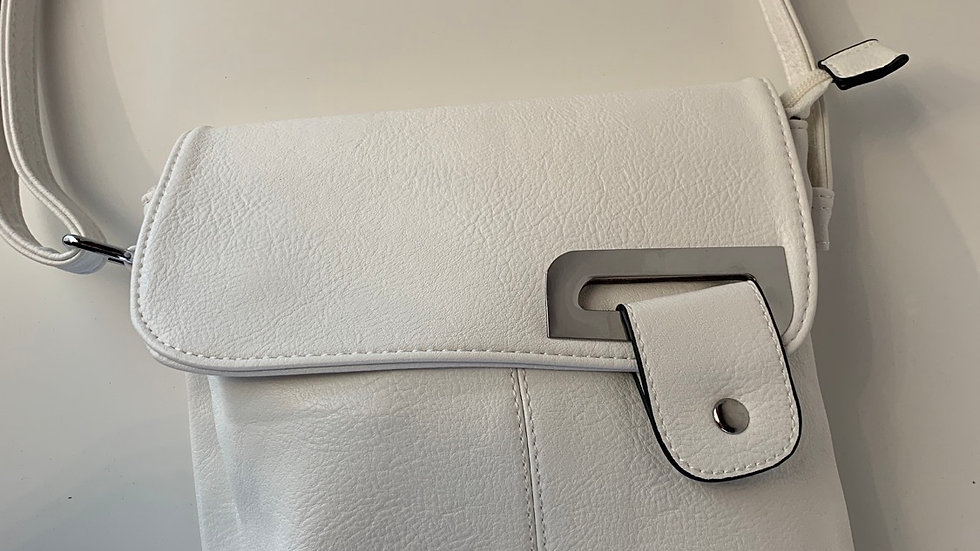 White Crossover Bag