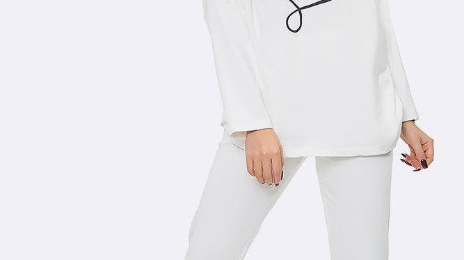 Love Loungewear in Grey