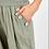 Thumbnail: Button Pocket Detail Harem Pants Kahki