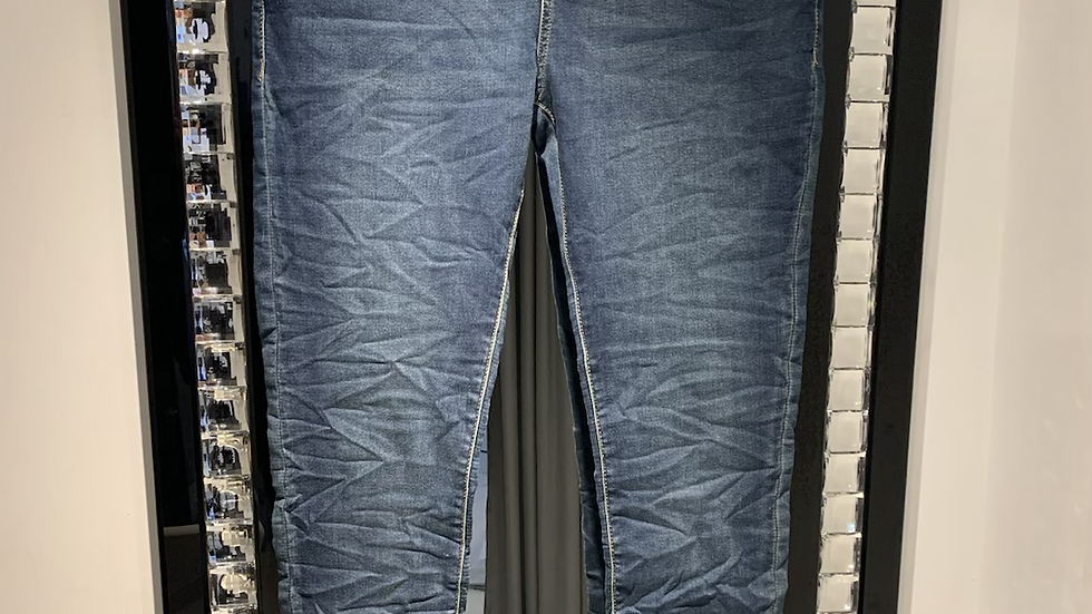 Jogger jeans elasticated waist