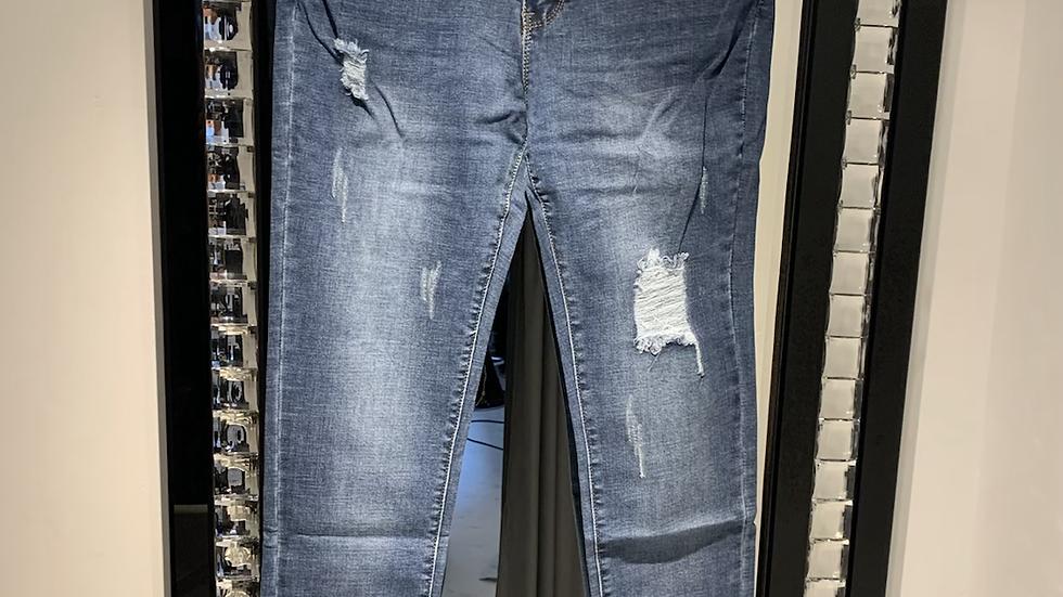 High Waisted  stretchy curvyJeans