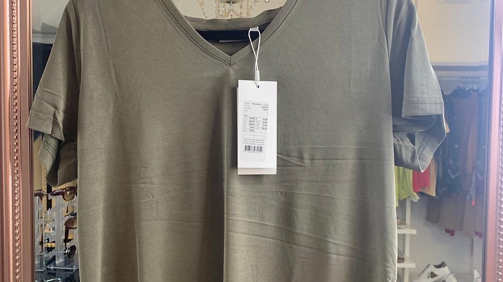 Fransa T-Shirt - Hedge