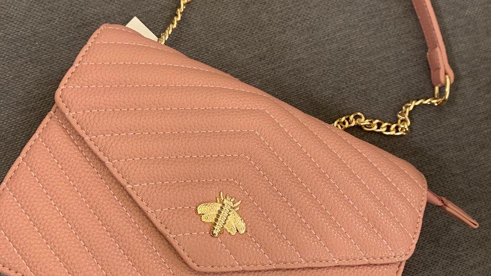 TBK pink handbag