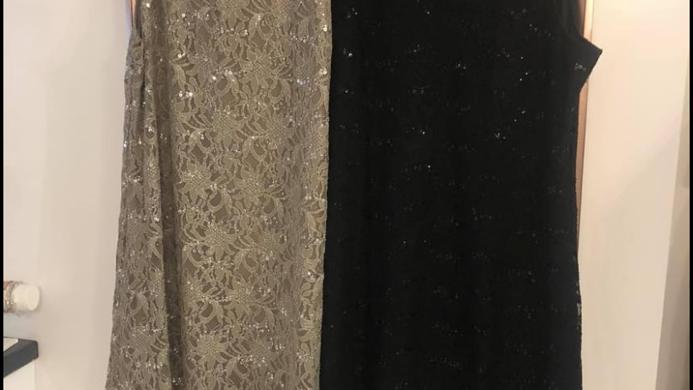 Sequin Curvy Dresses