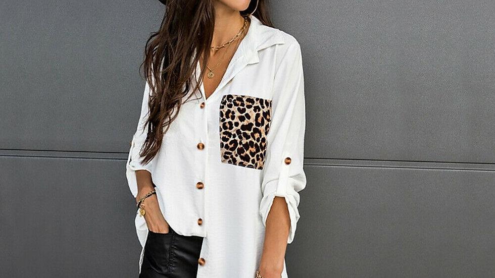 LooBees Shirt Dress - White