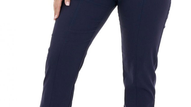 Pinns Begonia Ankle Grazer Stretch Trousers with Waist Band