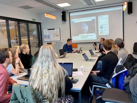 Group 4 - Blog Post #1: NRK and Climate
