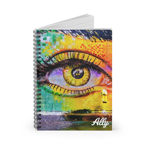 No Tears Spiral Notebook - Ruled Line
