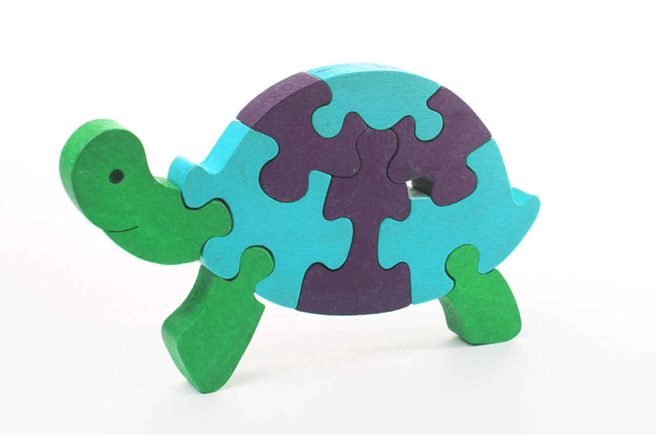 Turtle 3D Puzzle