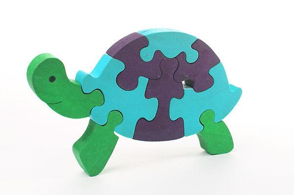 Puzzle Tortue 3D