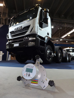 Laser Liner avec camions Iveco