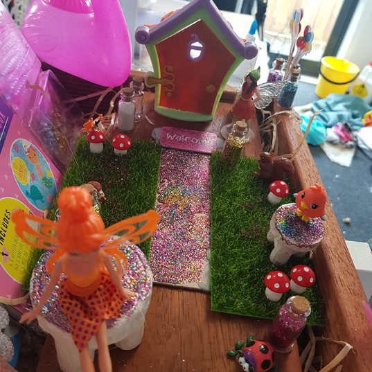 Fairy house & garden