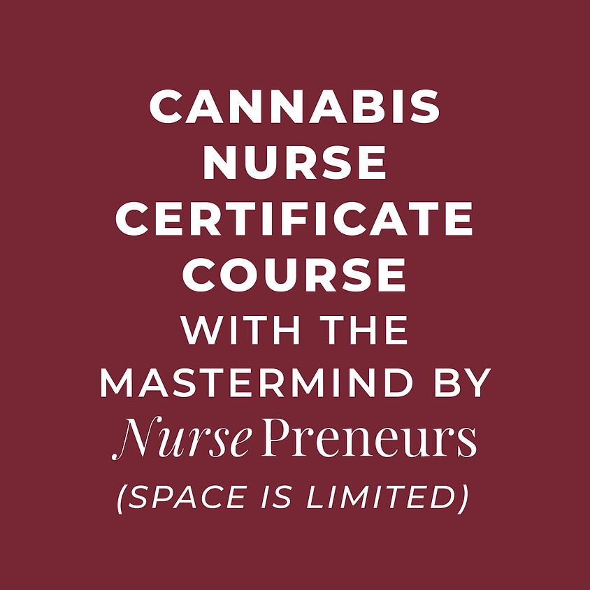 AUGUST 28 & 29 | Cannabis Mastermind with Nursepreneurs