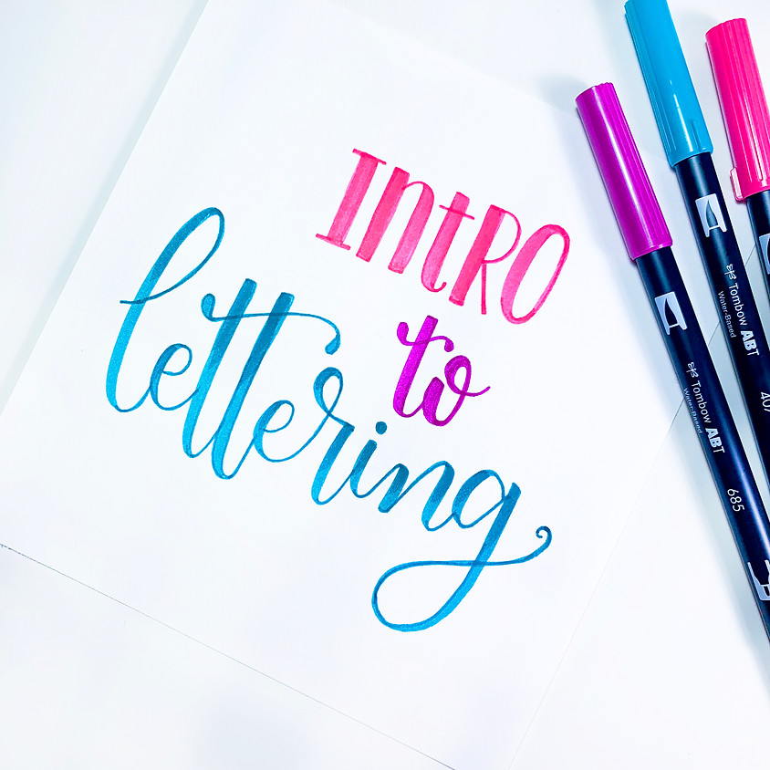 Intro to Lettering Workshop & Private Shopping Experience