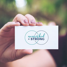 Nourished and Strong Logo