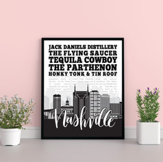Modern Nashville Print