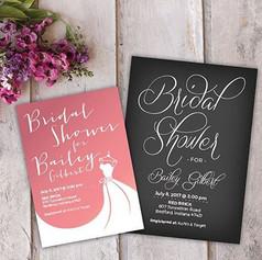 Simple and elegant bridal shower designs