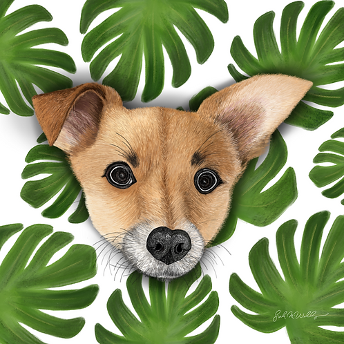 Custom Digital Pet Portrait