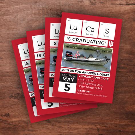 Custom Graduation Invites