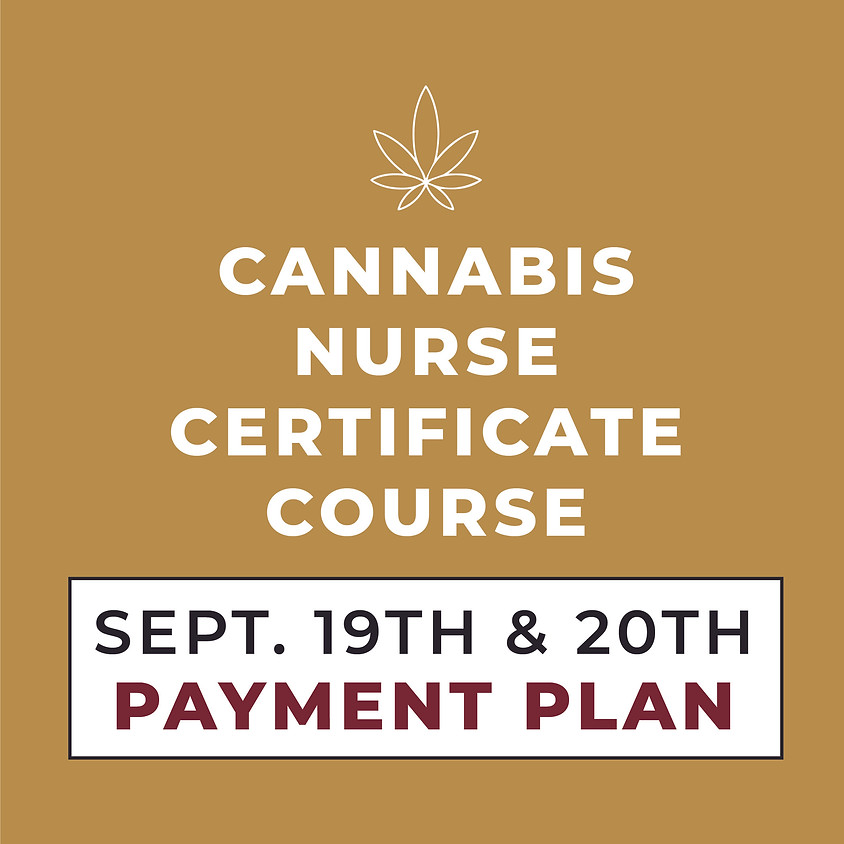 SEPT. 19TH & 20TH   2-Day Course   Payment Plan