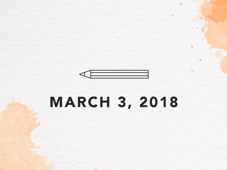 March 3, 2018