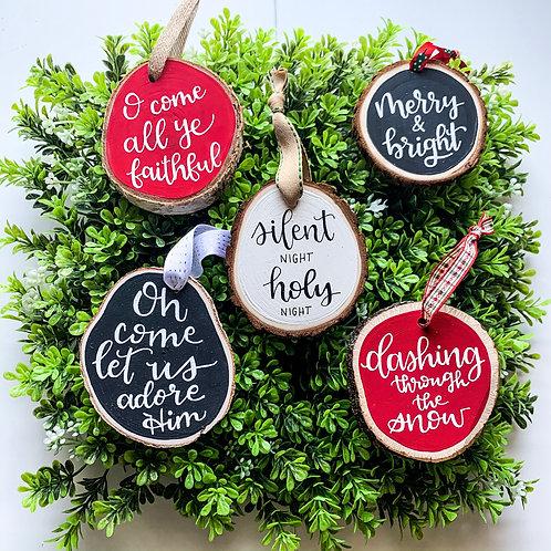 Grab Bag   3 Ornaments