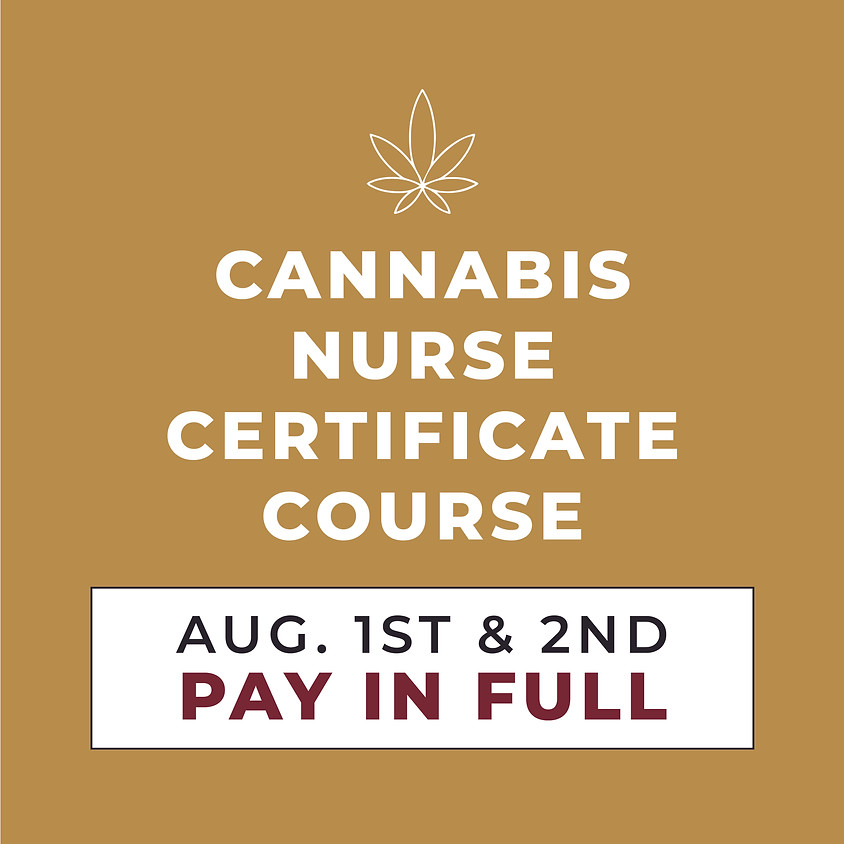 AUG. 1ST & 2ND | 2-Day Course | Pay in Full