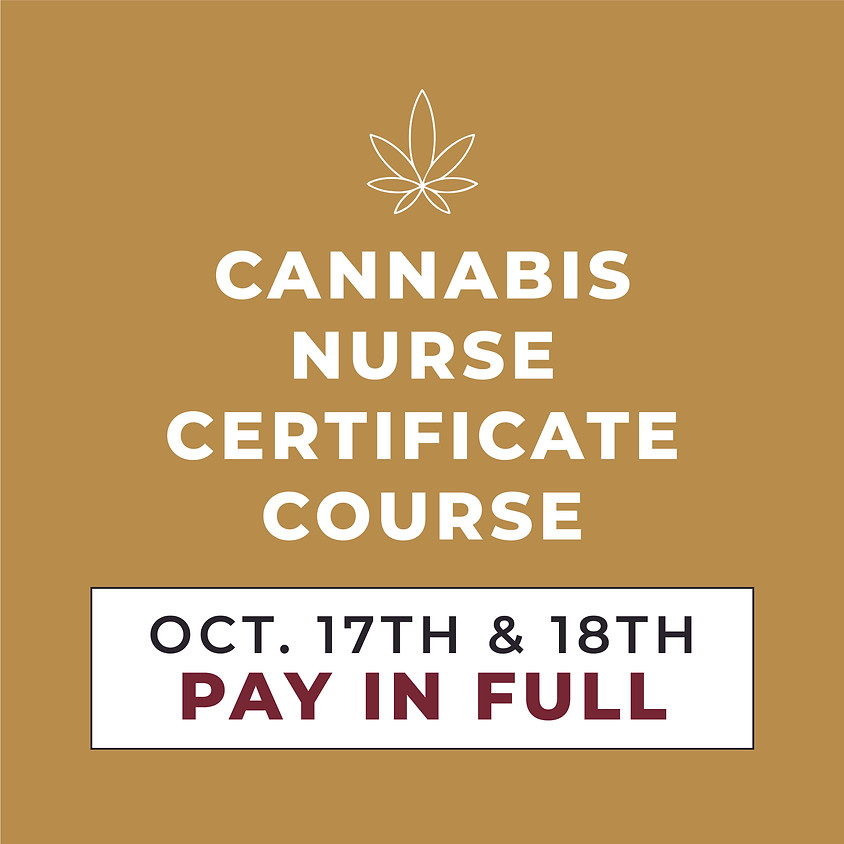 OCT. 17TH & 18TH | 2-Day Course | Pay in Full