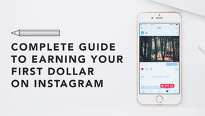 Complete Guide to Earning Your First Dollar on Instagram