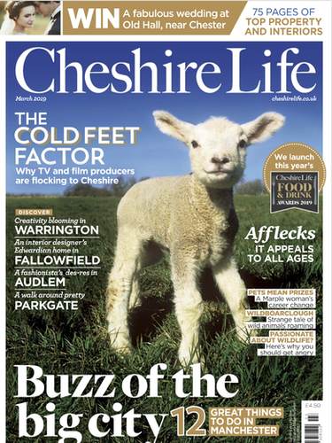 Cheshire Life March 2019 Cover