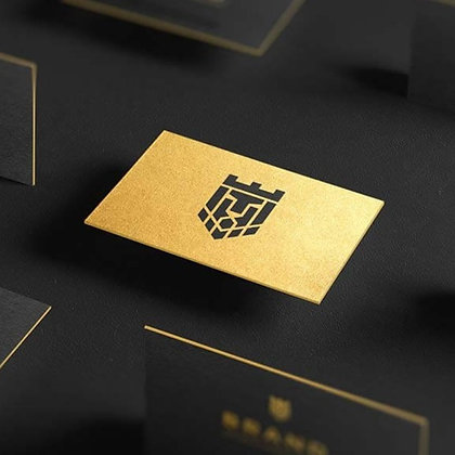 Gold Foil Business Cards by Small Piece of Paper, Manila, Makati City, Taguig City, Ortigas, Pasig City