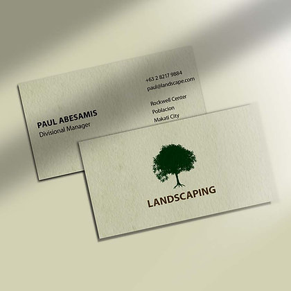 Old Mill Business Cards by Small Piece of Paper, Manila, Makati City, Taguig City, Ortigas, Pasig City