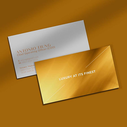 Matte Laminated Business Cards by Small Piece of Paper, Manila, Makati City, Taguig City, Ortigas, Pasig City