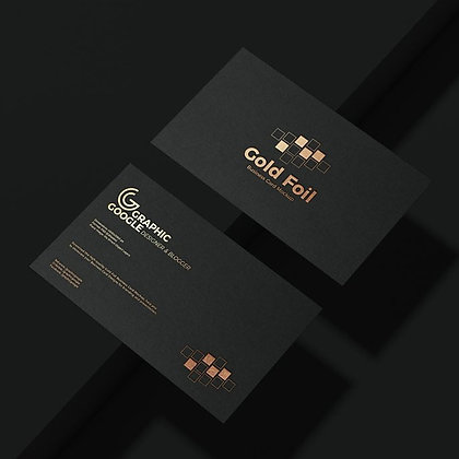 Spot Gloss and Foil Business Cards by Small Piece of Paper, Manila, Makati City, Taguig City, Ortigas, Pasig City