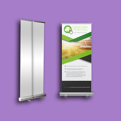2.75 x 6.5 Roll Up Banners Philippines, Manila, Makati City, Taguig City, Ortigas, Pasig City