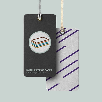 Premium Thick Hang Tags by Small Piece of Paper in Manila