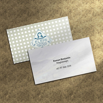Classic Business Cards Semigloss in the Philippines by Small Piece of Paper, Manila, Makati City, Taguig City, Ortigas, Pasig
