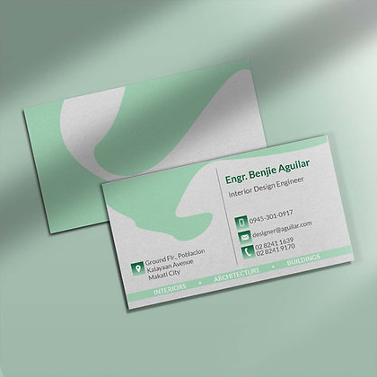 Classic Natural Business Cards by Small Piece of Paper, Manila, Makati City, Taguig City, Ortigas, Pasig City