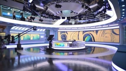 상암동 MBC 뉴스 스튜디오