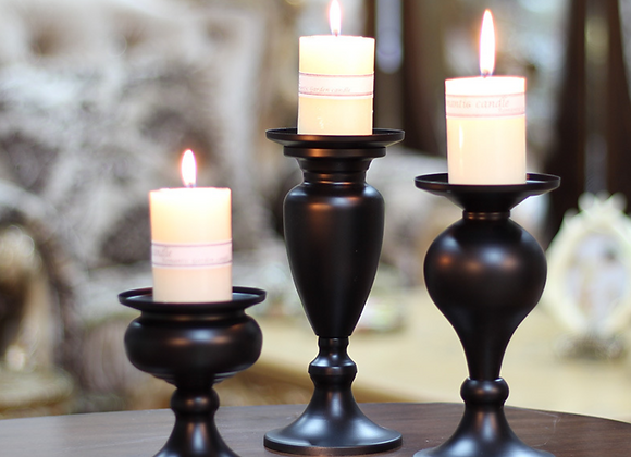 Set of Candlestick Holder for Taper Candles for Wedding Event
