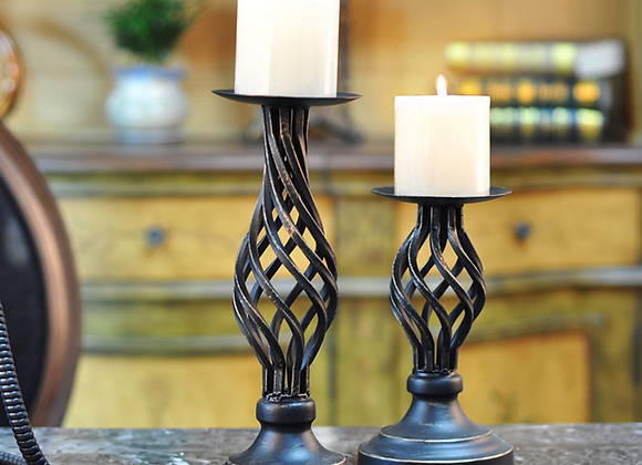 Candlestick Holder for Taper Candles for Wedding Event