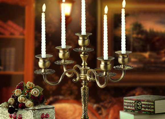 Candelabra Candlestick Holder for Taper Candles for Wedding Event Candle Centerp