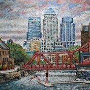The Swimmers of Shadwell Basin (SOLD)