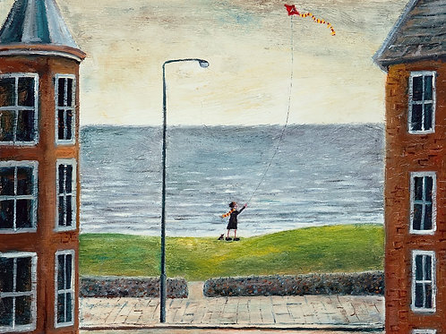 Sally Always Liked To Fly Her Kite After Pilates