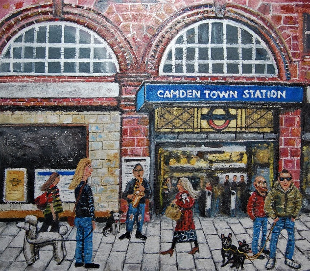Camden Town, where people go to hang around (SOLD)