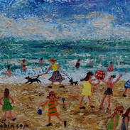 A Day by the Sea SOLD