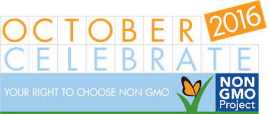 October is Non-GMO Month!
